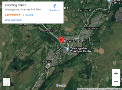 Ystradgynlais Recycling Centre