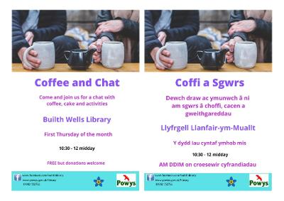 Builth Library Coffee and chat