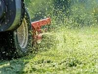 Image of grass cutting