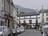 Street shot in Crickhowell