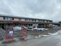 Image of the new Welshpool Church in Wales Primary School build