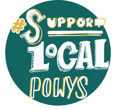 Support Local Powys logo
