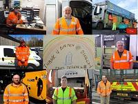 Image of the recycling crews