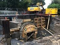 Image of repairs to Pennant Pound culvert