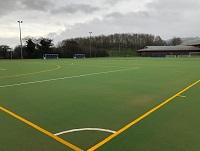 Image of new outdoor pitch for Flash Leisure Centre