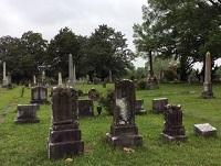 Image of a graveyard