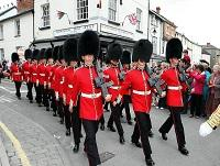 Image representing Brecon to host Welsh Guards St David's Day Parade