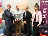 Image representing Powys receives accolade for topping carbon-recycling league for whole of England, NI and Wales