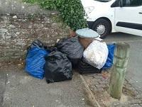 Image of some fly tipping