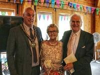 Image representing Former council Chairman celebrates diamond wedding