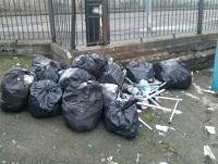 Image of fly tipping in Knighton