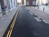 Image representing Brecon's High Street Superior resurfaced