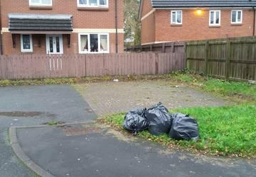 Image representing Man fined for dumping black bags at housing estate