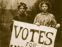 Image of suffragettes