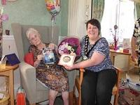 Image representing Vice Chair visits Joan on her 100th birthday