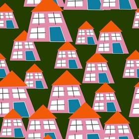 Image of a collage of houses