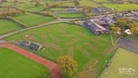 view of where Brecon High School will be