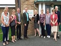 Image of the Llanfyllin Library Partnership team