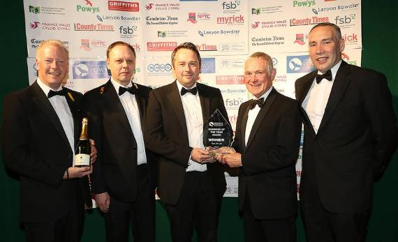 Image of previous business awards winners