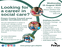 Image representing Looking to develop your career in Social Care?