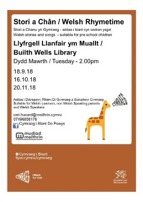 Builth Wells - Welsh Story time