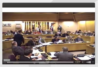 Image of Council meeting