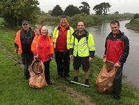 Image of some of the Severn Way volunteers