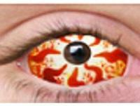 Image of a Halloween contact lens