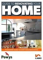View the LABC guide to renovating your home