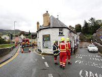 Image representing Drop-in session arranged to discuss Crickhowell flooding