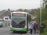 Image of a bus at a bus stop