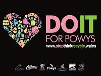 Image of Do It for Powys English logo