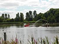 Image of pedalos on Llandrindod Lake
