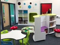Image of new classroom at Ysgol Carno