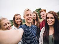 Image of a group of young people