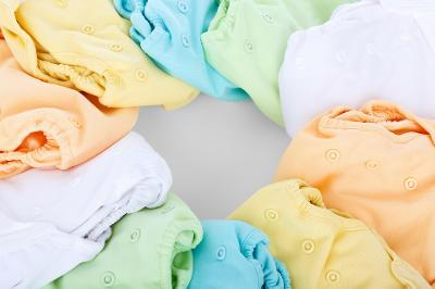 Image of some cloth nappies