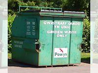 Image of a garden waste bank
