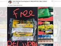 Image of counterfeit tobacco being sold on Facebook