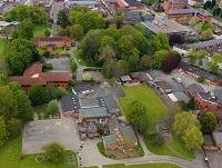 Image of a ariel view of a part of Newtown