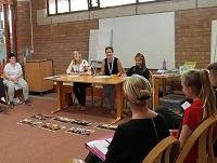 Image of people at a dementia awareness session