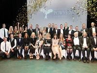 Image of last year's Powys Business Award winners